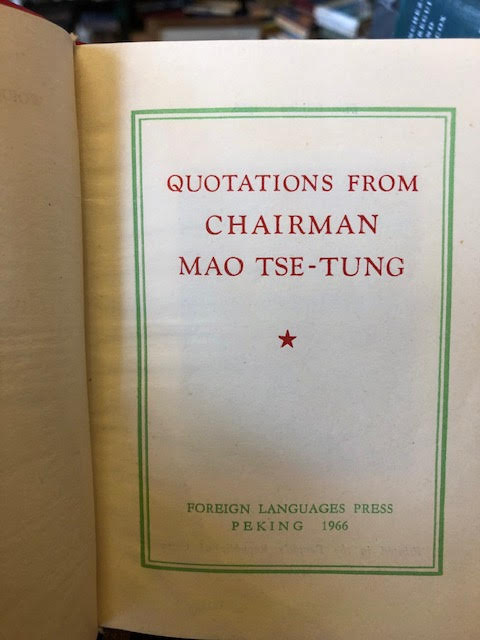 Image for Quotations From Chairman Mao Tse-Tung