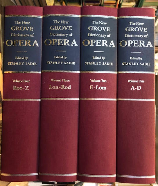 Image for New Grove Dictionary of Opera - 4 Volumes