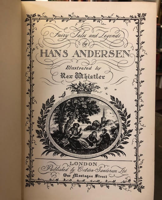 Image for Fairy Tales and Legends By Hans Andersen