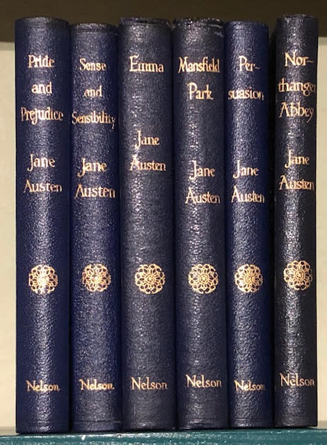 Image for The Works of Jane Austen : Pride and Prejudice. Sense and Sensibility. Persuasion. Emma. Mansfield Park. Northanger Abbey. Six volumes complete