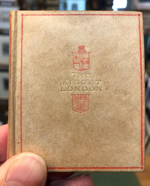 Image for The 'Midget' London. Miniature book