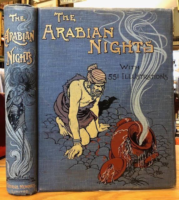 Image for The Arabian Nights Entertainment : With Several Hundred Illustrations by W. H. Robinson, Helen Stratton, A. D. McCormick, A. L. Davis and A. E. Norbury