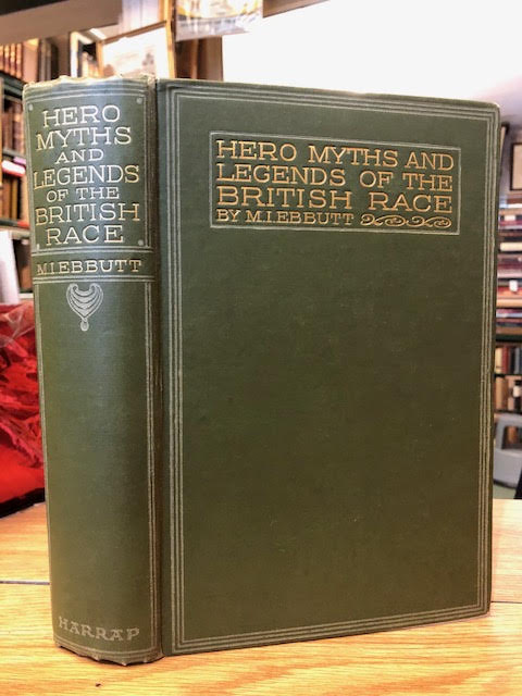 Image for Hero-Myths & Legends of the British Race
