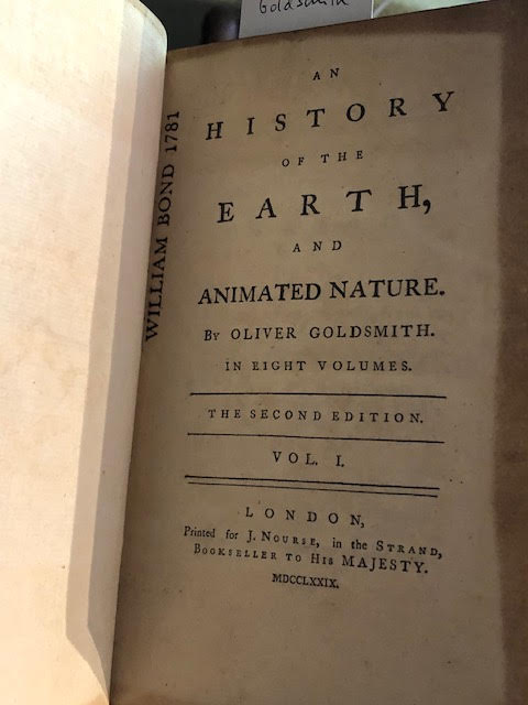 Image for An History of the Earth, and Animated Nature. In eight volumes