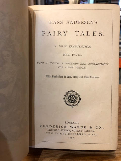 Image for Han Andersen's Fairy Tales : A New Translation. With a Special Adaptation and Arrangement for Young People