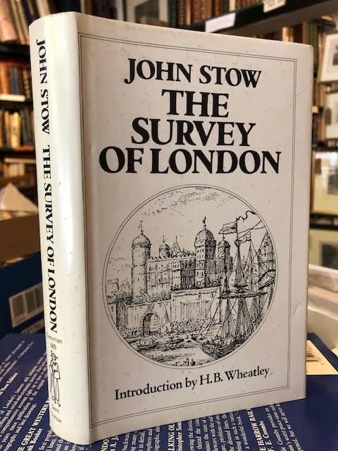 Image for Stow's Survey of London (Everyman's Library)